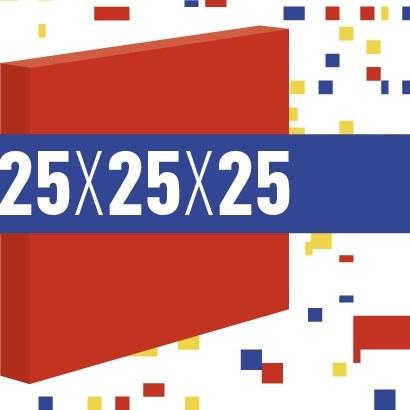 25 x 25 x 25