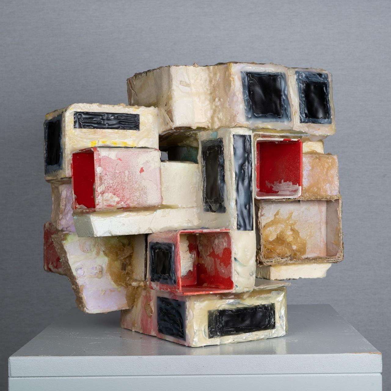 Werk Jimi Kleinbruinink voor tentoonstelling 25 x 25 x 25 (foto RalfSilvius).jpg