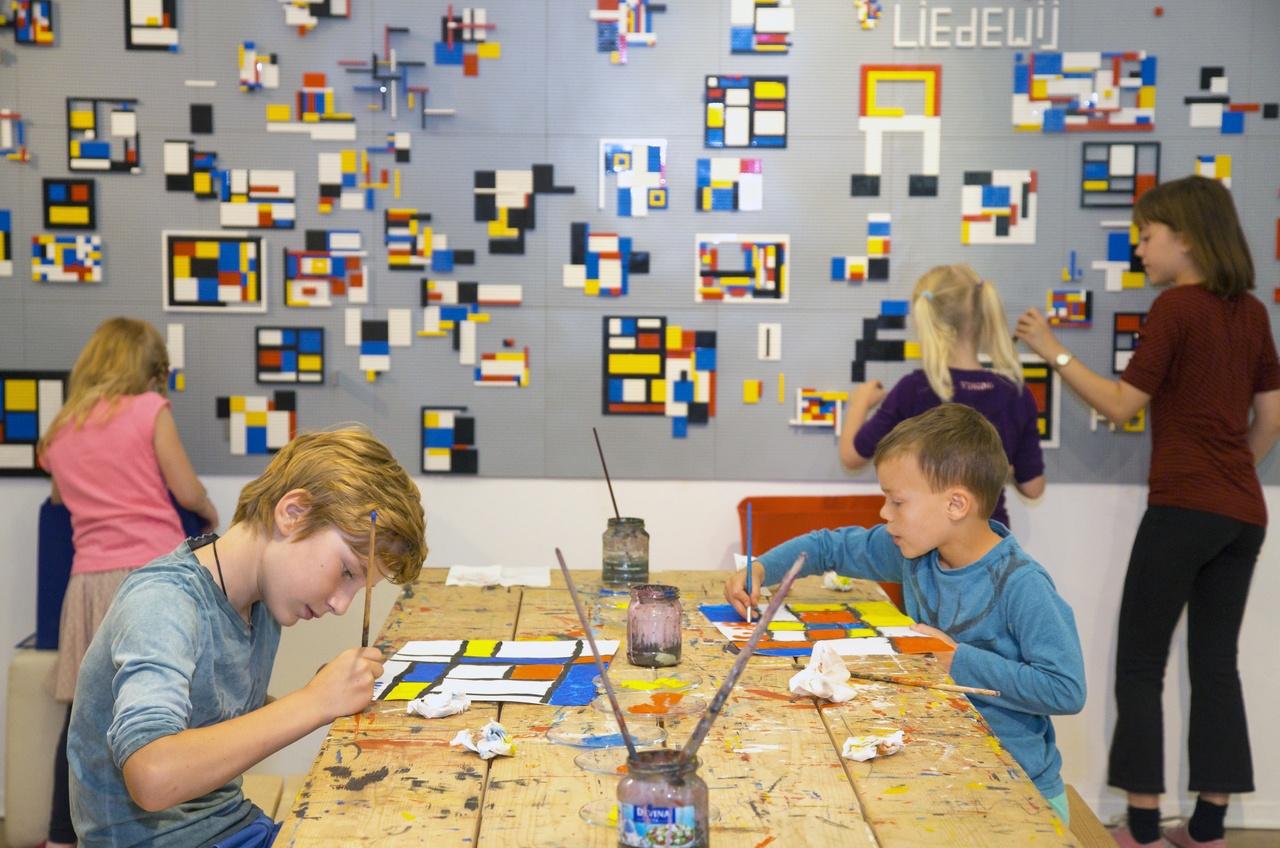 Kinderactiviteiten in het Mondrianhuis