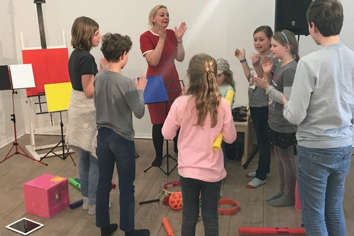 Kinderworkshop: JazzLab in Stijl