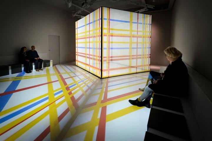 Nominatie designprijs voor multimediaal Mondriaanhuis