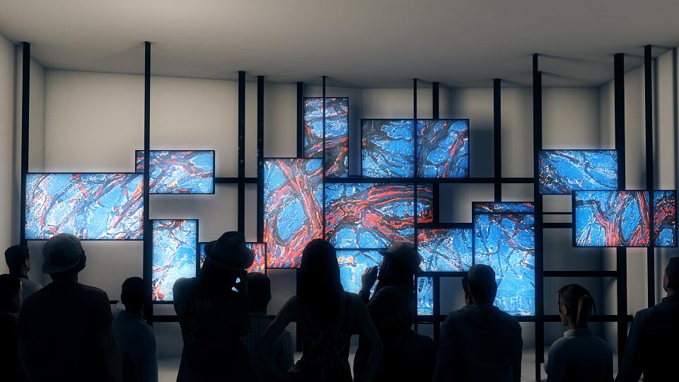Videoinstallatie in het Mondriaanhuis, art-impression van Tinker Imagineers 2 pb.png