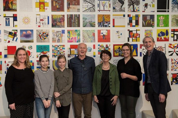 Winnaars schilderwedstrijd Mondriaanhuis