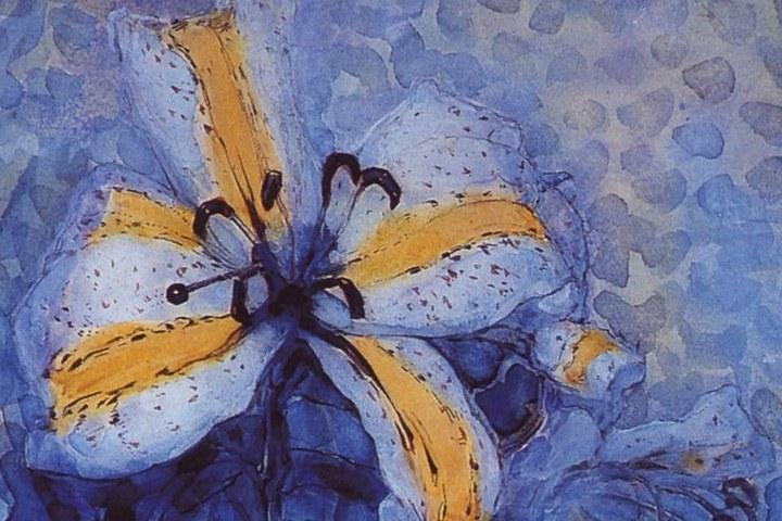 Bloemen van Mondriaan