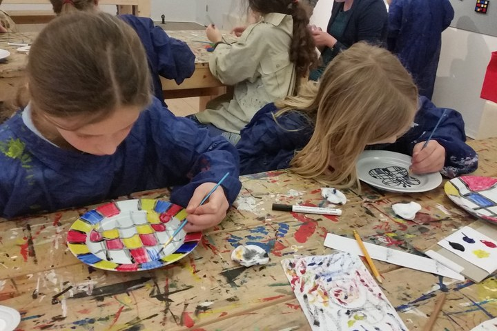 Kinderworkshop: Servies schilderen