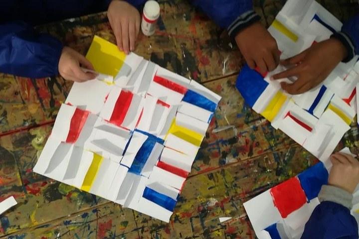 Kinderworkshop: Spelen met papier en licht