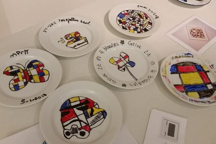 Kinderworkshop Servies schilderen (VOLGEBOEKT)