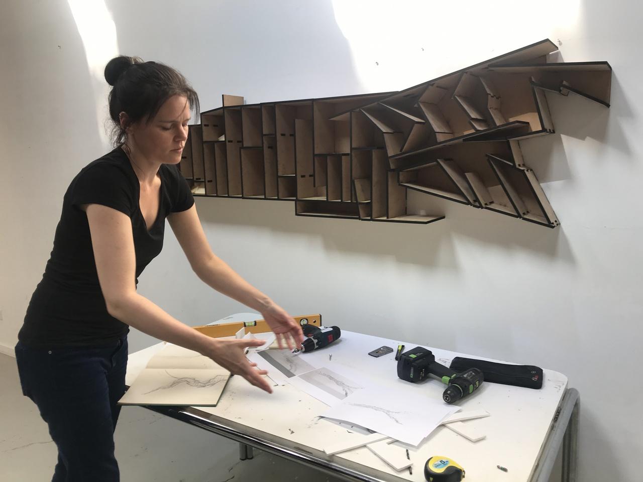 Atelierbezoek Elise van der Linden