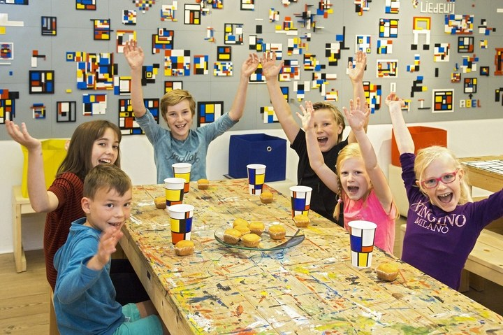 Kinderfeestjes in het Mondriaanhuis
