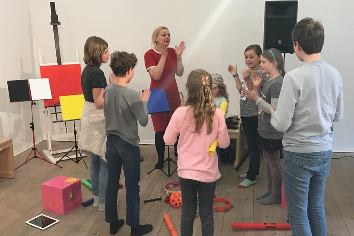 Kinderworkshop JazzLab in Stijl