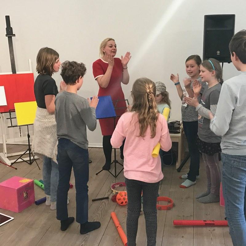 Kinderworkshop JazzLab in Stijl