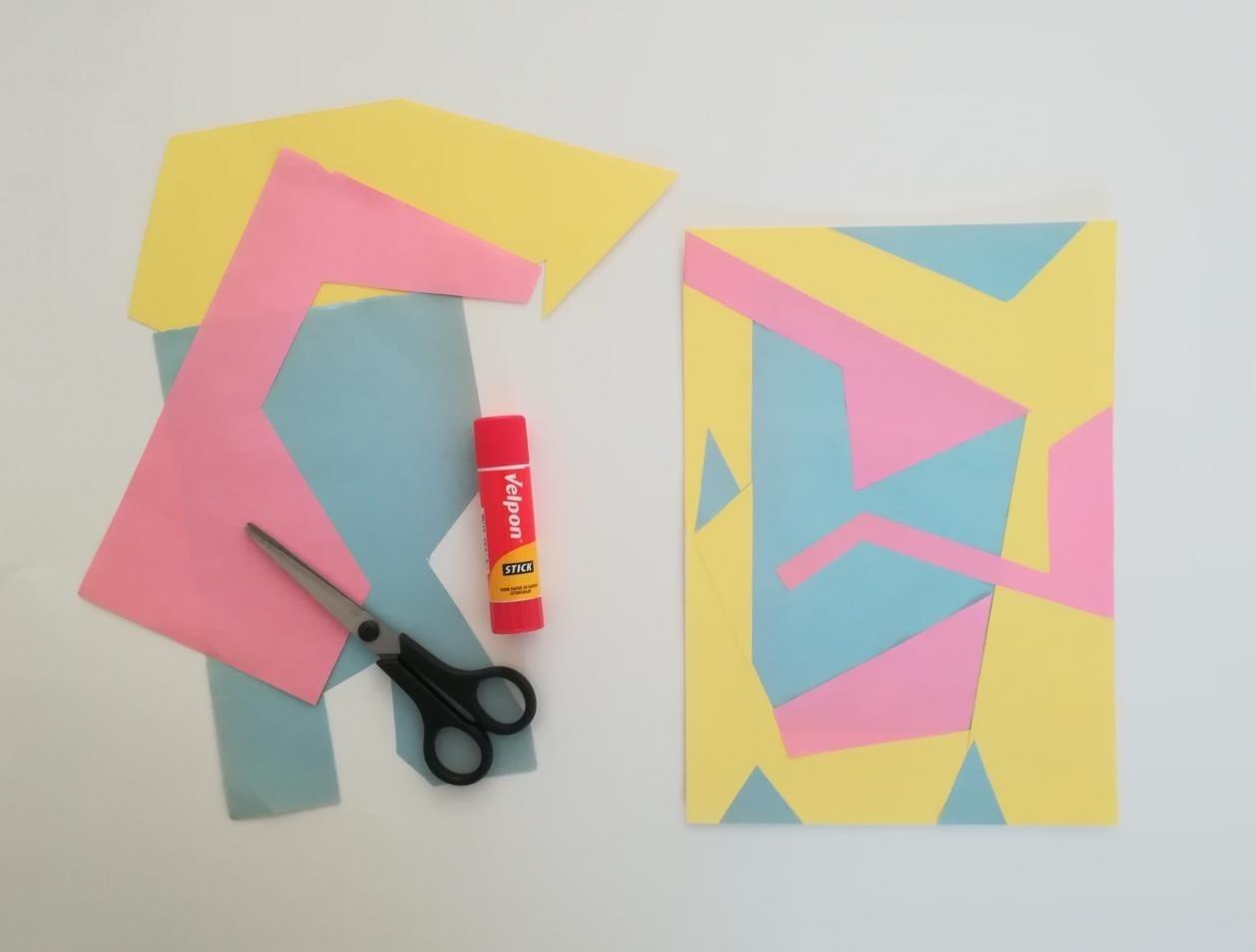 Kinderworkshop Mondriaanhuis - Papier mozaïek