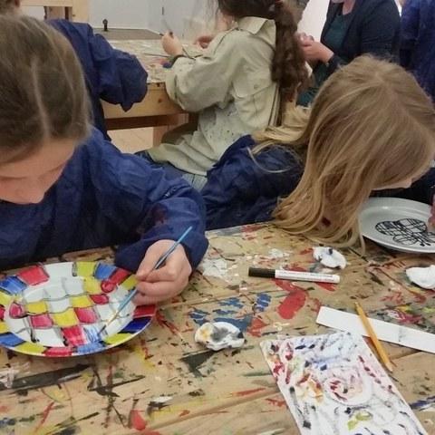 Kinderworkshop Porselein schilderen