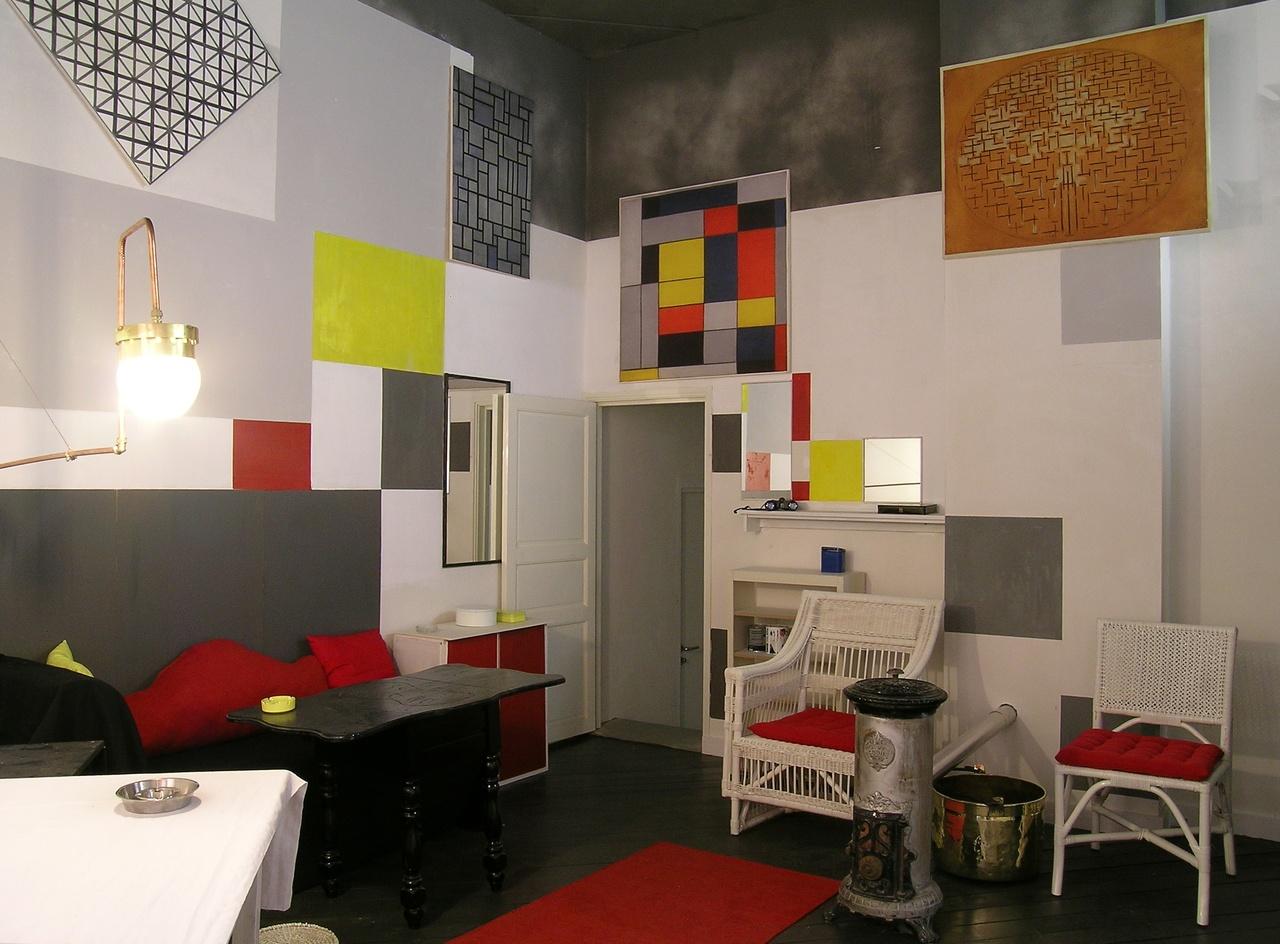 Parijse atelier van Piet Mondriaan