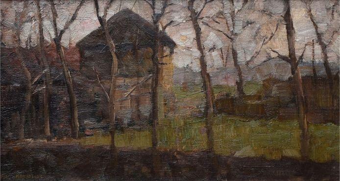 Piet Mondriaan, Op de Ringdijk, 1902, Collecie Esser