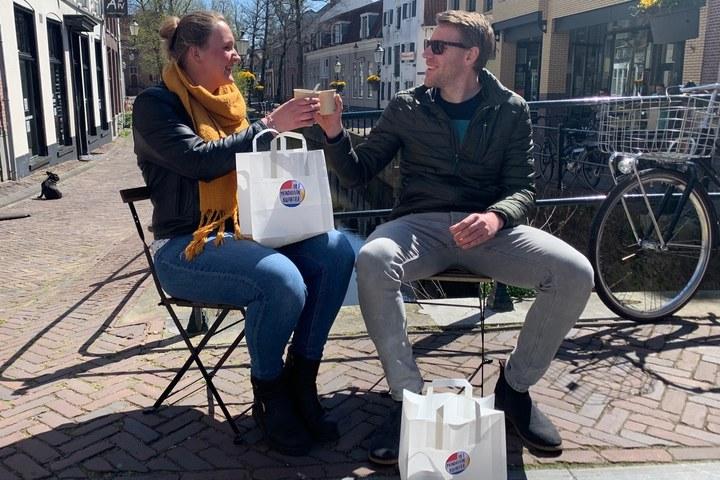 Picknick in het Mondriaankwartier