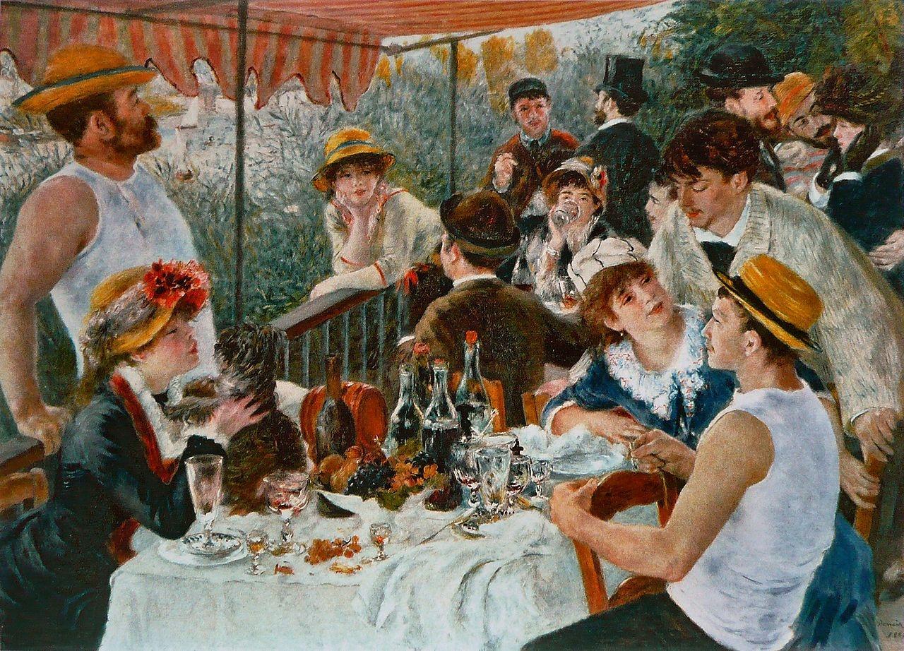 Le déjeuner des canotiers van Pierre-Auguste Renoir