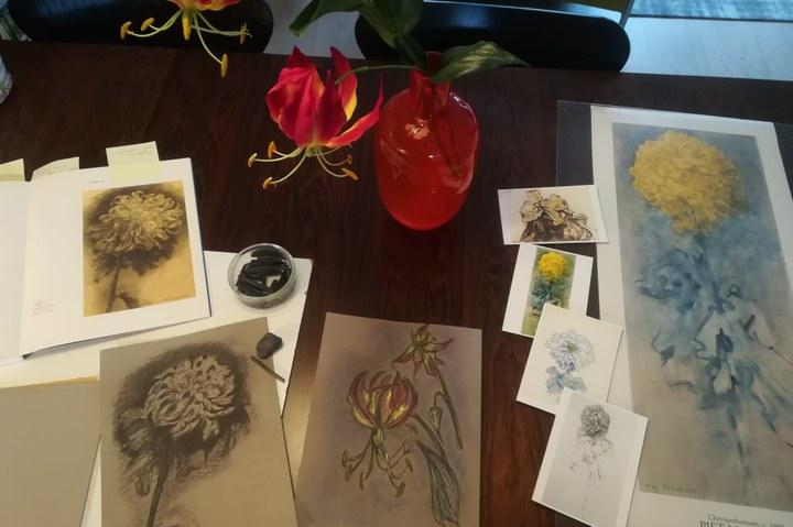 Workshop: Bloemen van Mondriaan