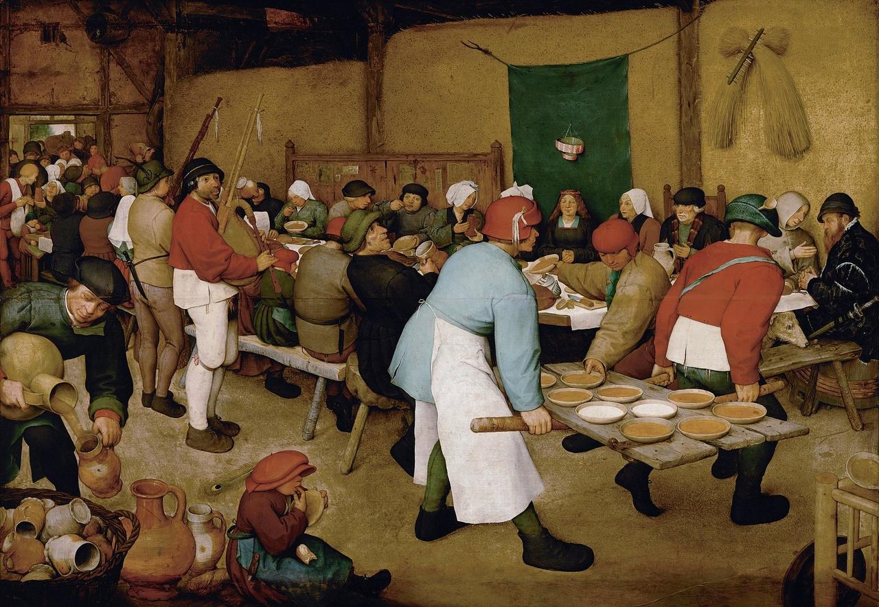 Pieter Bruegel de oude, Boerenbruiloft