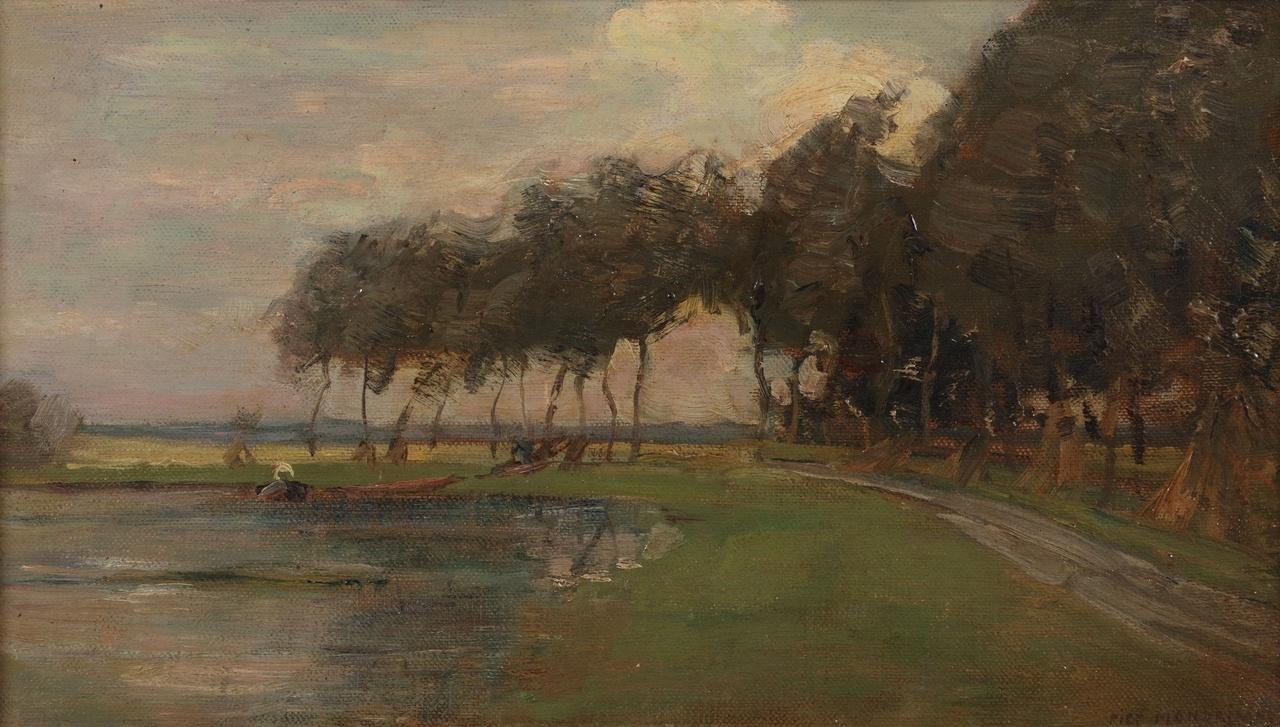 Piet Mondriaan, landschap